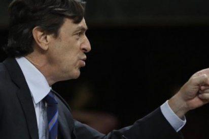 El PP de 'verdad' celebra la mano de palos que propinó Rafa Hernando a Pablo Iglesias