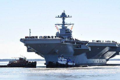 El portaaviones más caro y avanzado del mundo no lanza ni recibe aviones