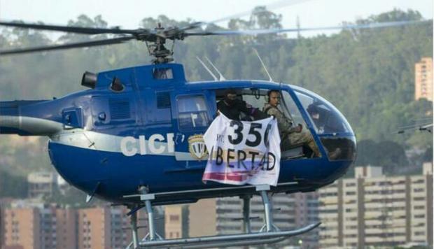 Un militar patriota roba un helicóptero y lanza granadas contra el TSJ chavista