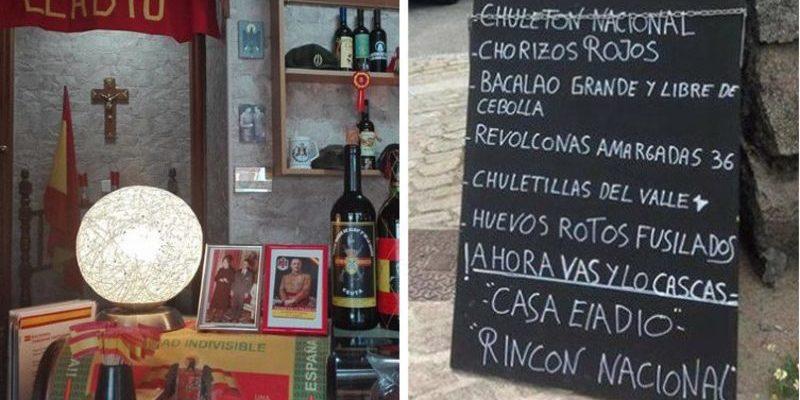 España: Los gilipollas que exigen cerrar el bar que sirve 'chorizos rojos' y 'chuletón nacional'