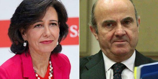 Luis de Guindos y Ana Botín pactaron la compra de Banco Popular en el Club Bilderberg