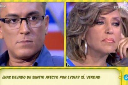El 'palo' de Kiko Hernández a Lydia Lozano