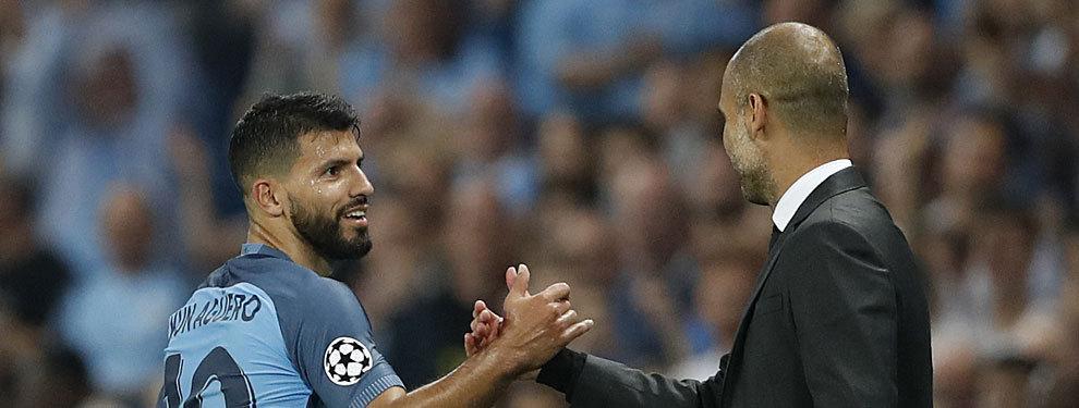 Agüero responde al interés de Guardiola por Alexis Sánchez con una amenaza