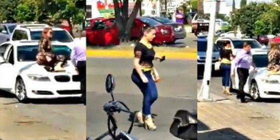 [VÍDEO] La cornuda descubre al marido con su guapa amante y monta algo más que un pollo