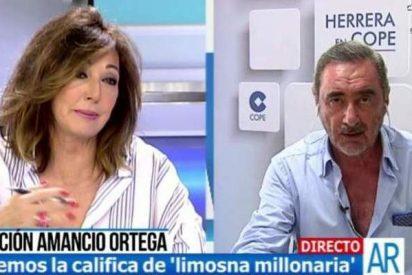 """Carlos Herrera: """"Las máquinas de Amancio Ortega no detectan el cáncer, sino gilipollas"""""""