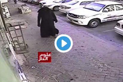 [VÍDEO] El musulmán disfrazado de mujer que viola y estrangula a un niño