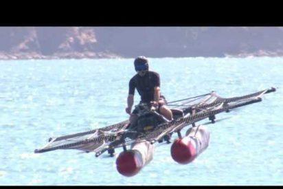 [VÍDEO] Así es el super vehículo volador del fundador de Google 'Kitty Hawk Flyer'