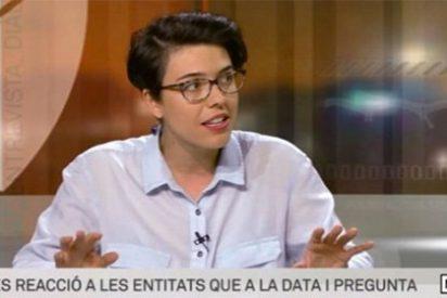 """Una tertuliana de TV3 dice que solo suspendería el referéndum independentista """"si el Estado comienza a matar gente"""""""
