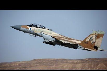[VÍDEO] La Fuerza Aérea de Israel ataca a las tropas sirias