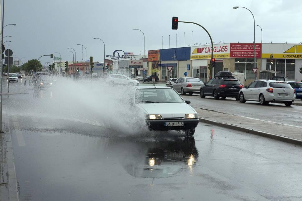 Protección Civil avisa de tormentas y vientos de hasta 80 kilómetros por hora en 6 provincias