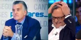 """Momentazo entre Inda y Marhuenda: """"Paco, ¿nos tomas por gilipuertas al decir que Bárcenas retira su acusación al PP porque no tiene dinero?"""""""