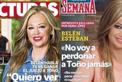 Con ella llegó el escándalo: Belén Esteban hace que Semana y Lecturas se peleen