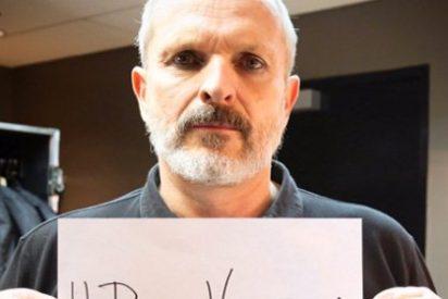 Miguel Bosé estalla de ira en Twitter y denuncia a los asesinos chavistas de Venezuela