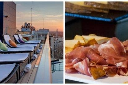 Un brunch distinto: piscina y grandes vistas de Madrid