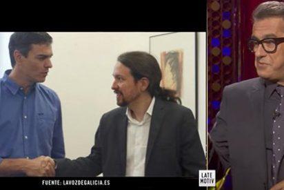 """Andreu Buenafuente se mofa de """"los tronistas de la izquierda"""""""