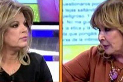 """Mila Ximénez deja sin palabras a Terelu Campos: """"¡Me revuelve las tripas el cinismo y la falsedad!"""""""