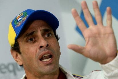 """El líder opositor Capriles afirma que Zapatero es un """"agente del Gobierno chavista"""""""