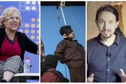 """Ahora Madrid pide acabar con las """"matanzas de negros y gays"""" y le recuerdan que Iglesias cobra de Irán"""