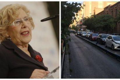 Carmena contrató el corte de la calle Galileo con una empresa 'amiga' de Ahora Madrid