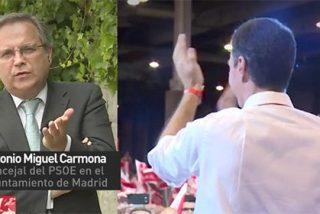 """Carmona apuñala a Sánchez: """"La mitad del partido está contra la otra mitad"""""""