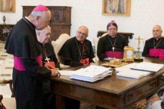 Los obispos venezolanos entregaron al Papa un informe de los fallecidos durante las protestas contra Maduro