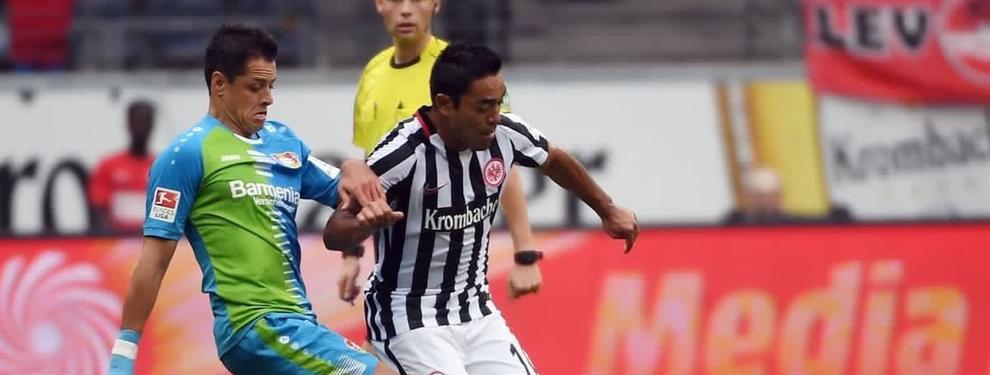 Chicharito y Marco Fabián olvidados por la Bundesliga en la lista de mejores hispanos