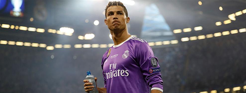 Cristiano Ronaldo mueve ficha (mosqueado) ante la última maniobra del Real Madrid con Gareth Bale