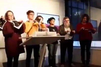 Anna Gabriel y sus pulgosos de la CUP vuelven a atentar contra el Rey