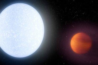 Descubren el exoplaneta gigante más caliente conocido hasta la fecha