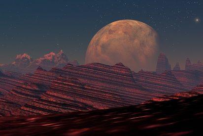 La NASA capta una extraña imagen en Marte