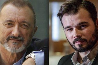 Arturo Pérez-Reverte da estopa de la buena a Rufián y Cañamero