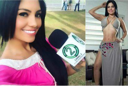 [VÍDEO] Así detienen a la modelo y presentadora colombiana acusada de participar en un secuestro