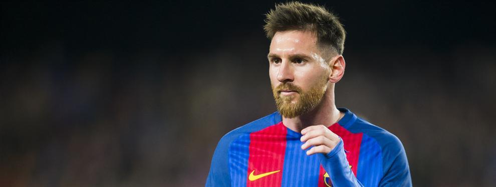 El crack que no quiere jugar con Leo Messi en el Barça