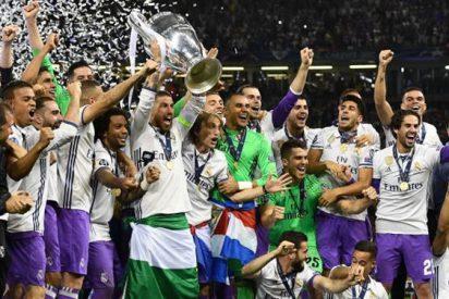 El feo detalle que empañó la celebración del Real Madrid en Cardiff