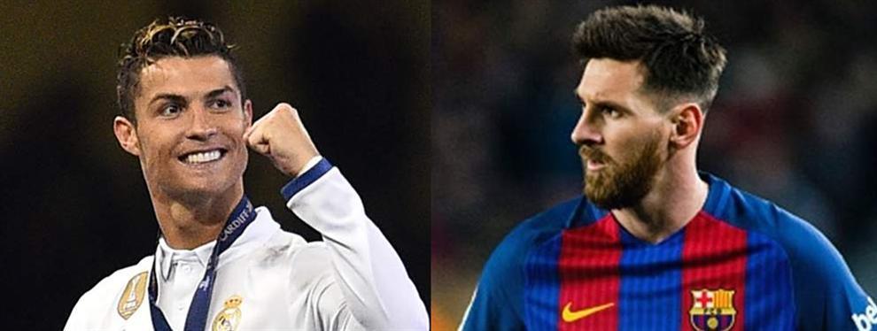 El informe más secreto sobre Cristiano Ronaldo llega a oídos de Leo Messi
