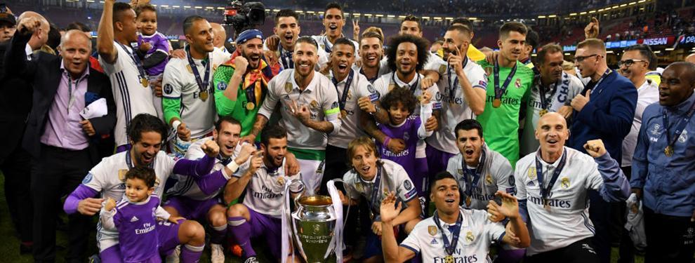 El jugador del Real Madrid que ?armó el lío? tras la victoria en la Champions League