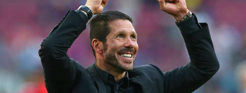 El negocio encubierto en el primer fichaje Top de Simeone para el Atlético (y es un 'bombazo')