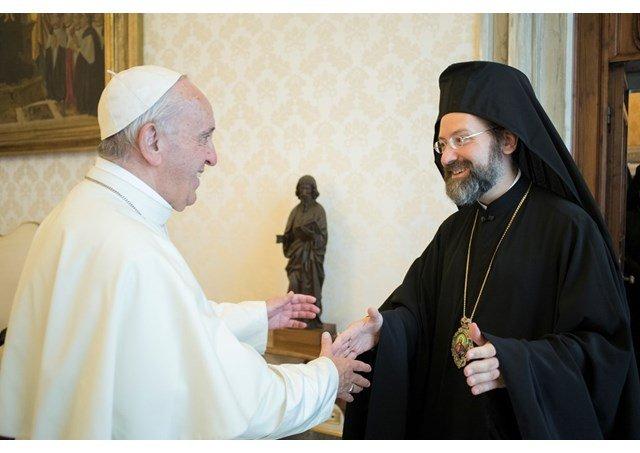 """El Papa, a los ortodoxos: """"Unidad plena, no uniformidad homologada"""""""