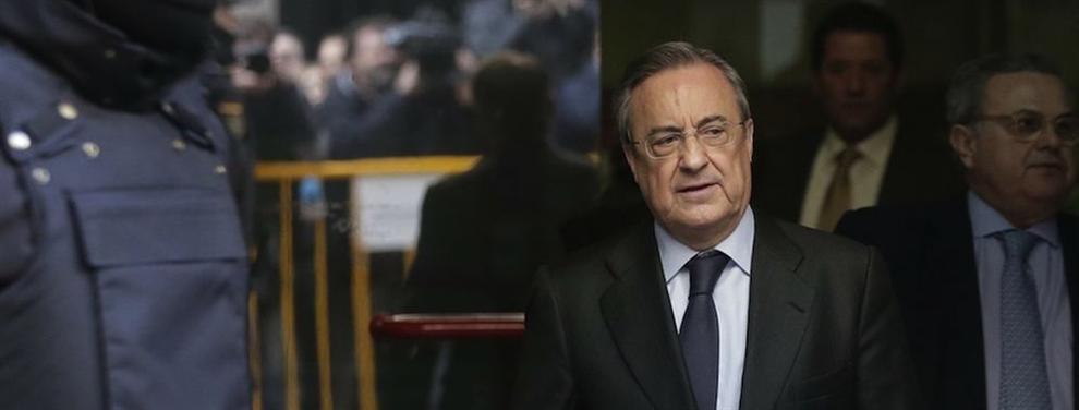El pelotazo de Florentino Pérez para dejar al Barça en ridículo (y el aviso de Messi)