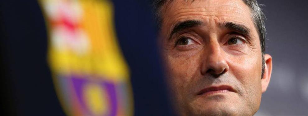 El primer informe que 'saca los colores' a Ernesto Valverde en el Barça (y le pone a prueba)