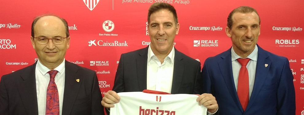 El Sevilla se pone manos a la obra para robarle un delantero a la Premier y dárselo a Berizzo