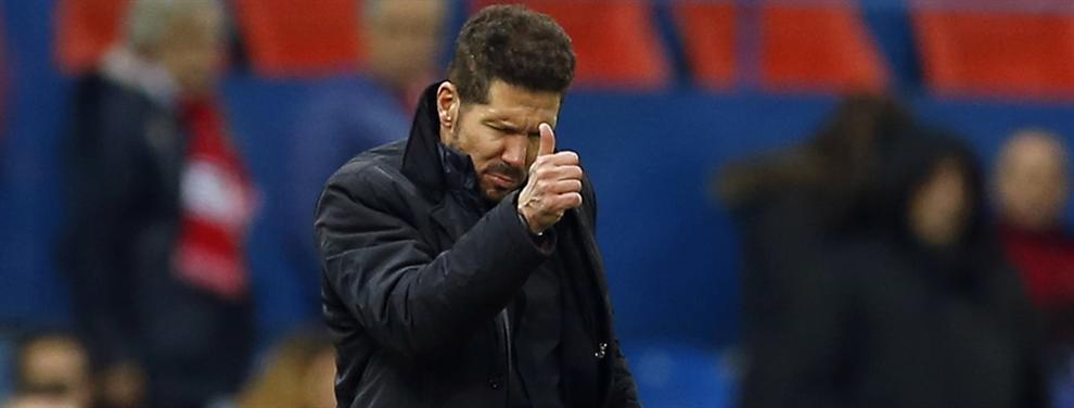 El tapado que Simeone tendrá bajo sus órdenes en el Atlético el próximo mes de enero