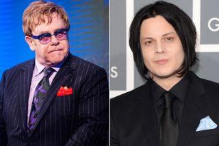 """[VÍDEO] 'UN LUJO': Jack White y Elton John, juntos en """"Two Fingers of Whiskey"""""""
