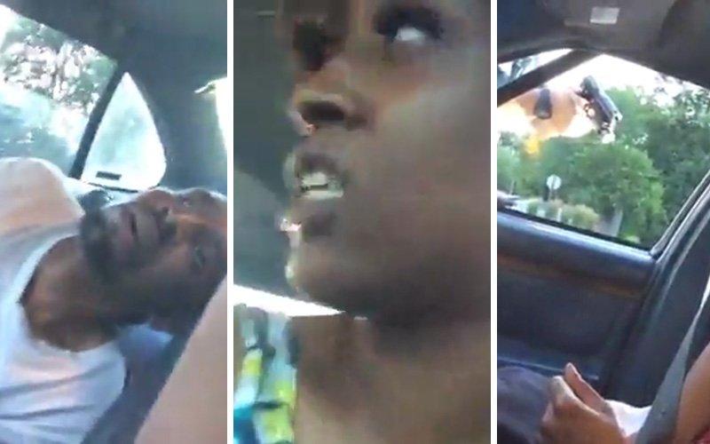 [VÍDEOS X] El histérico policía que mata a un conductor delante de su hija