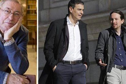 """Caza de brujas contra Félix de Azúa por definir a la izquierda española como """"la más cortita"""""""
