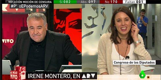"""La babosa entrevista de Ferreras a Irene Moreno: """"Ha nacido una nueva estrella"""""""