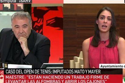 Ferreras acorrala a Rita Maestre y le desmonta de un plumazo su defensa de la 'okupa' Mayer y el 'estalinista' Mato