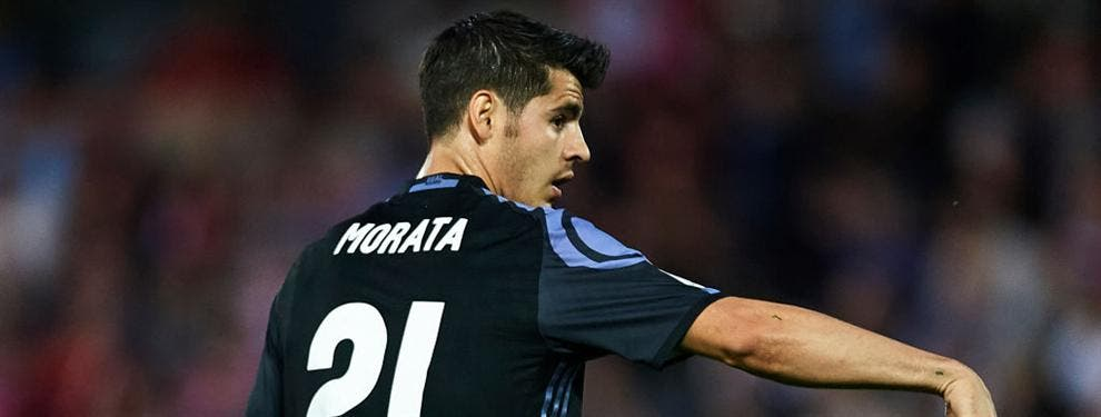 Florentino Pérez le toma el pulso al órdago de Morata con una advertencia bestial