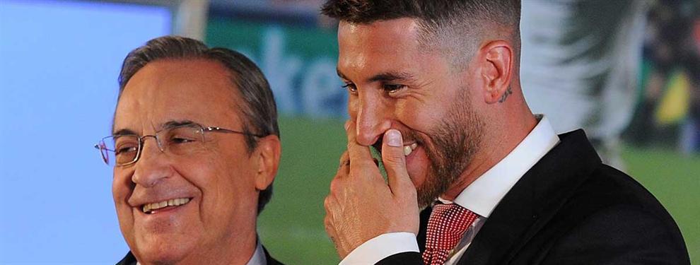 Florentino Pérez mete a Sergio Ramos en un lío bestial para calmar a Cristiano Ronaldo