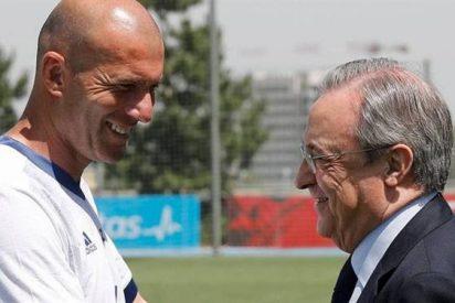 Florentino Pérez 'se come' tres reuniones por un fichaje para contentar a Zidane tras la Champions